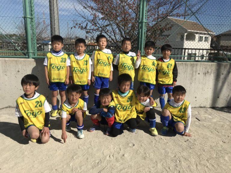 5年生 中野区トレーニングマッチ   BOA SPORTS CLUB へようこそ!の